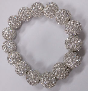 Very Beautiful Crystal Shamballa Bracelet pictures & photos