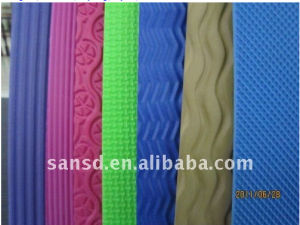 Anti Slip EVA Sole Sheet/EVA Foam Textured Sheet and Emboss EVA Shoes Material for Hotel Slipper pictures & photos