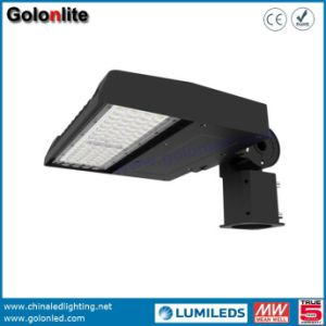 400W 500W Metal Halide Halogen Lamp LED Replacement 120lm/W 100W LED Shoe Box Light pictures & photos