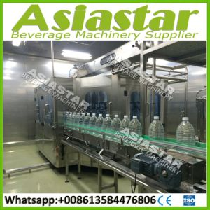 Automatic Plastic Bottle Water Liquid Filling Machine Pcaking System pictures & photos