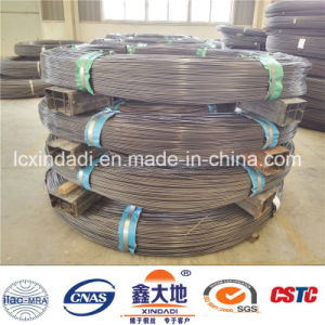 9.5mm Plain/Smooth/Spiral Surface High Carbon Prestressed Concrete Wire pictures & photos