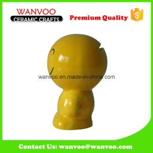 Hand Made Porcelain Smile Face Cion Bank Souvenirs for Business Gift pictures & photos