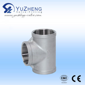 Stainless Steel 304/316 Threaded Cross Pipe Fitting pictures & photos
