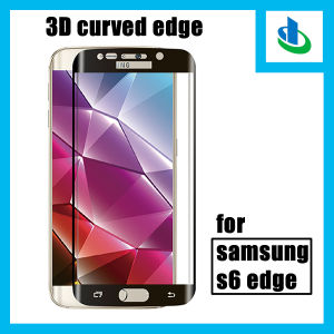 3D 9h Curved Edge Tempered Glass Screen Protector for Samsung S6 Edge (SSP) pictures & photos