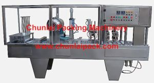 Plastic Cup Filling and Sealing Machine pictures & photos