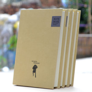 Professional Custom Kraft Hardcover Paper Notebook