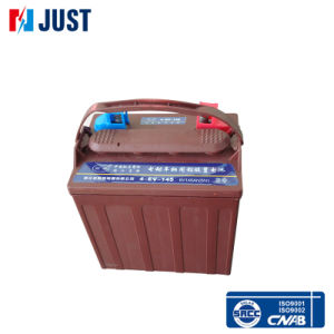 T-105 6V 180ah Deep Cycle Golf Cart Battery pictures & photos