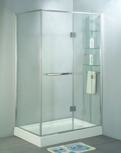 10mm Clear Tempered Glass as Shower Room Wall and Top