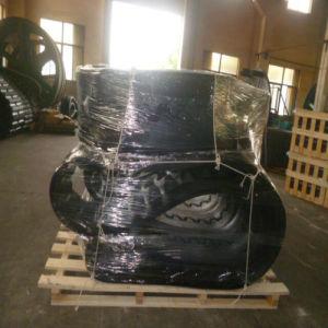 Puyi Paver Rubber Tracks for Asphalt Paver PF5510 483*152.4*52 pictures & photos