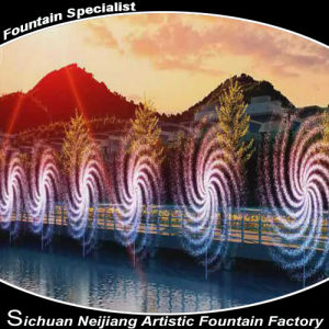 Rotating Fountain Watershape Windmill pictures & photos