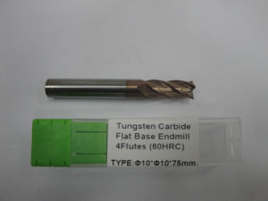 Tungsten Carbide Endmills with Good Quality pictures & photos