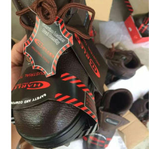 Industrial Worker Leather Safety Shoes (PU Leather Upper+Rubber Sole) pictures & photos