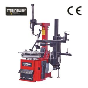 Professional Pneumatic Tilt-Back Post Tyre Changer with Right Help Arms (ZH665RA)