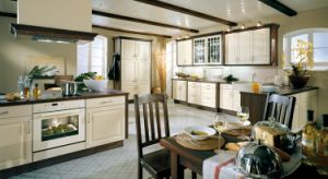 China Professional Manufacturer Customized Kitchen Cabinet pictures & photos