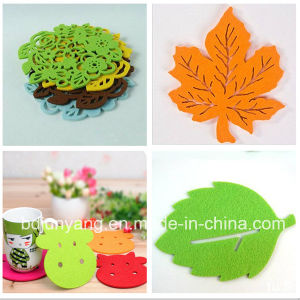 OEM Hot Selling Custom Felt Coaster pictures & photos
