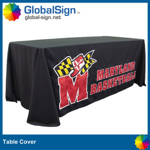 Dye Sublimation Printed Table Throw for Events pictures & photos