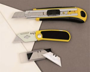 Hand Tools Cutting Utility Knife Auto Reload 8 Blades DIY pictures & photos