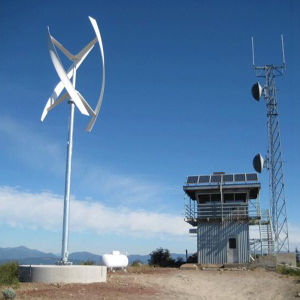 5kw Vertical Axis Wind Generator on-Grid System with Controller&Inverter pictures & photos