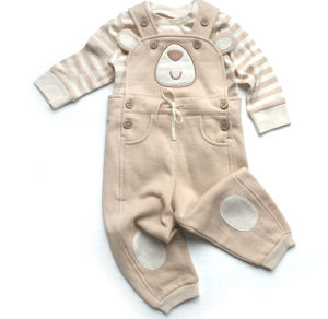 Organic Cotton Infant Cloth Set for 3-12 Month pictures & photos