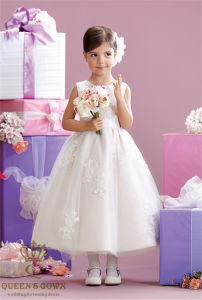 2015 New Wedding Flower Girl Dress, Tailored