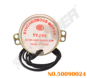 Suoer Electric Fan Synchronous Motor with Wire (50090024) pictures & photos