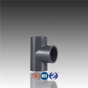 Wholesale From Dn15 to Dn400 High Pressure Fitting PVC Equal Tee pictures & photos