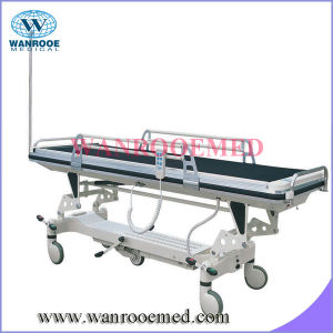 Medical Electric Transfer Stretcher with IV Pole pictures & photos