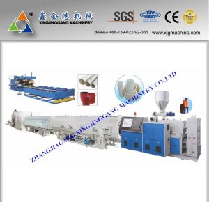 CPVC Pipe Production Line/HDPE Pipe Production Line/PVC Pipe Extrusion Line/PPR Pipe Production Line-180 pictures & photos