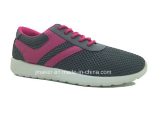 Comfort PVC Injection Running Shoes for Ladies (J2271-L) pictures & photos