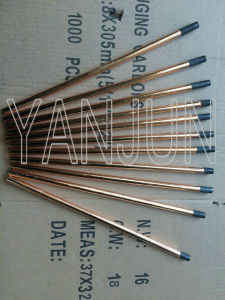Carbon Electrode with Copper Coating for Air Arc Gouging pictures & photos