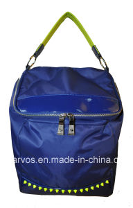 New Desinger Fabric Handbags with Leather /Waterproof Fabric Handbags (BS13583) pictures & photos