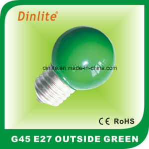 E27 Outside Colorful Incandescent Globe Bulb pictures & photos