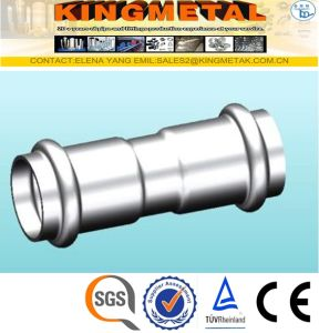 F304/316 Stainless Steel Press Fittings Equal Coupling pictures & photos