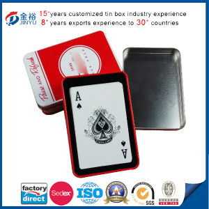 Rectangle Shaped Metal Card Packaging Box pictures & photos
