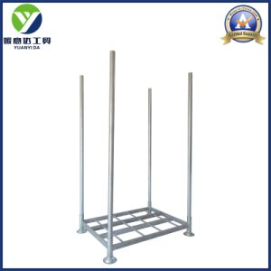 Galvanized Zinc Covered Stackable Metal Post Pallets/Heavy Duty Steel Pallet Rack pictures & photos
