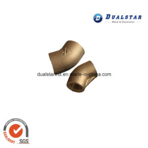 Brass Pipe Connector by Sand Casting