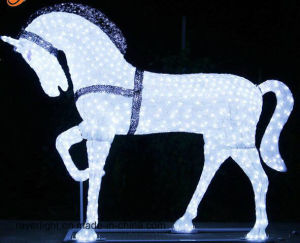 China Suppliers Christmas Horse Lights Motifs 2016 pictures & photos