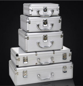 Customizable High Quality Aluminum Alloy Tool Case with Different Sizes pictures & photos