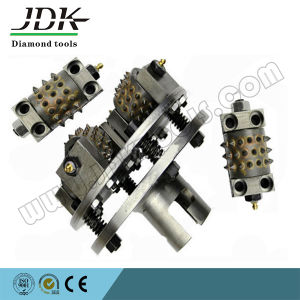 3t Diamond Bush Hammer Wheel for Stone Grinding pictures & photos