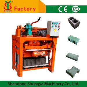 Qm4-40 Small Concrete Hollow Block Making Machine Cheap Price pictures & photos