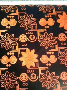 Flock Upholstery Fabric for Furniture pictures & photos