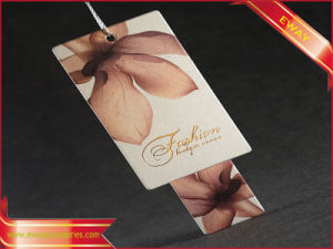 Garment Printed Hang Tag Paper Price Logo Tag pictures & photos