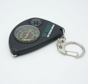 Multicolor Plastic Multi-Function Keychain Compass pictures & photos