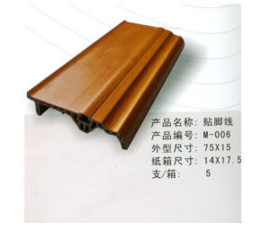 Hot Sales Make in China Wooden Skirting Board pictures & photos