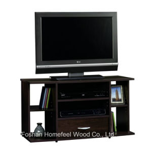 High Quality Living Room Wooden TV Stand with Drawer (TVS04) pictures & photos