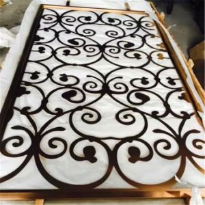Indoor Decorative Stainless Steel Laser Cut Room Screen Designs pictures & photos