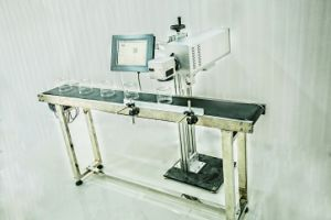 Industrial CO2 Laser Marking Machine for Plastic/Pipe/Glass/Bottles pictures & photos