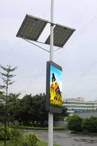 P4 Full Color Lighting Pole LED Display for Street pictures & photos