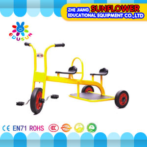 Child′s Foot-Operated Two-Wheeled Vehicle Three-Wheeled Vehicle Taxi (XYH-0135)