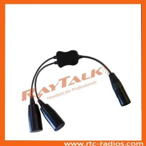 Airbus Headset Adapter/Air Bus Female 5 Pin to Ga Adapter pictures & photos